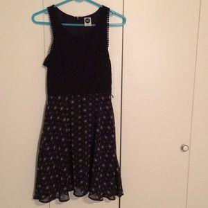 Disney Minnie Mouse laces chiffon dress sleeveless